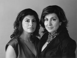 Shirley Hiranand and Reyna Harilela